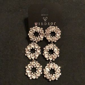 Windsor statement earrings